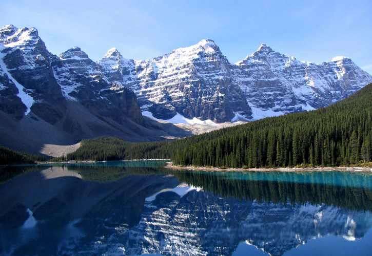 Canadian Rockies, attractions in Canada