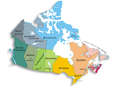 Map Of Canada Grade 2.History And Facts About Canada And Provinces In Canada